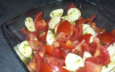 Ratz-Fatz Tomaten Mozarella Salat